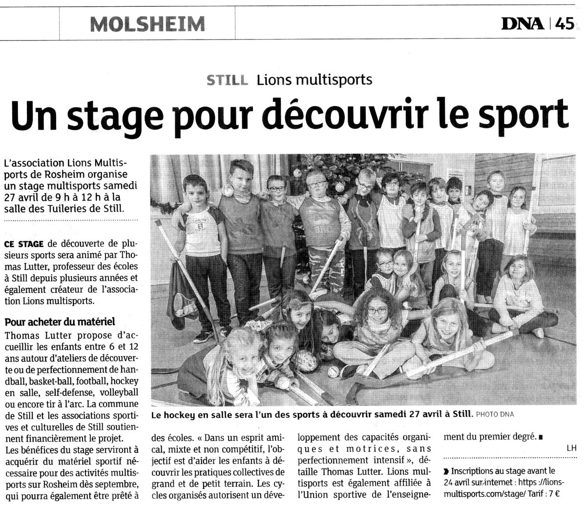 2019-04-17 DNA Stage Multisports à Still