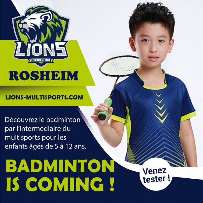 Badminton Is coming